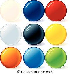 pelotas, brillante