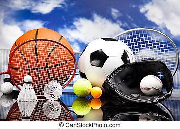 pelotas, deporte, equipo