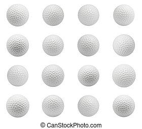 pelotas, golf