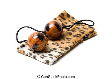 pelotas, leopardo, vaginal