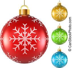 pelotas, navidad, colorido