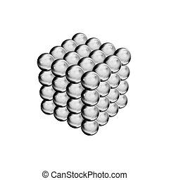 pelotas, render, magnético