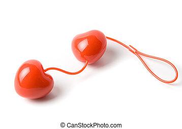 pelotas, rojo, vaginal