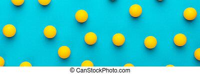 pelotas, tabla, turquesa azul, muchos, tenis, plano de fondo