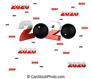 pelote, pala, entwürfe, viele, 2020