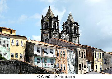 pelourinho, サルバドール, 植民地, -, 建築, 2017, brazil.