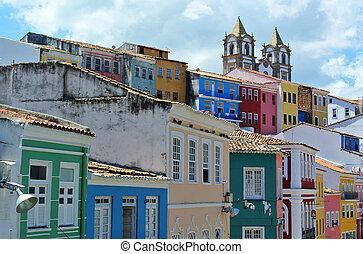 Pelourinho in Salvador da Bahia (Brazil)