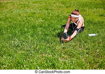 pelouse, exercisme