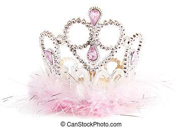 pelucheux, couronne, fantaisie