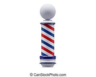 peluquero, señal