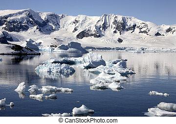 península, antárctico, antártica