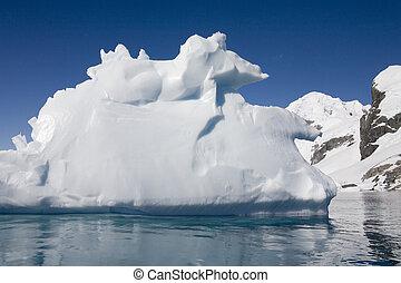 península, antártico, antártida