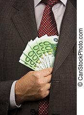 peníze, evropský