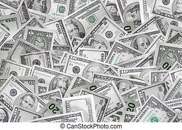 peníze, grafické pozadí