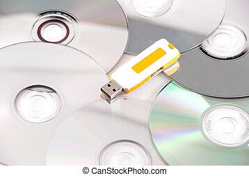 pen drive wins vs the cd war