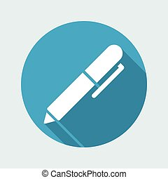 Pen - Flat vector icon