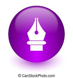 pen internet icon