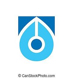 Pen logo template, writer icon design, nib simple logo - Vector