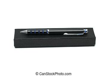 Pen on the box
