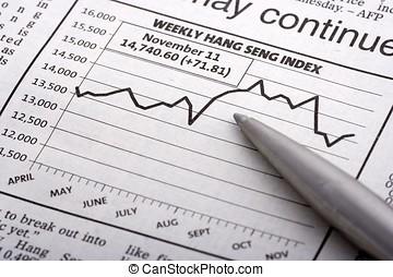 Pen Over Chart