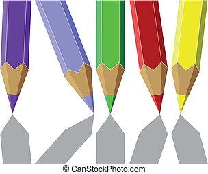 Pen set color 04