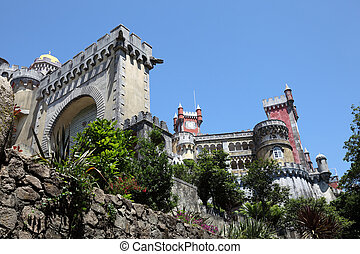 Pena National Palace in Sintra, Portugal