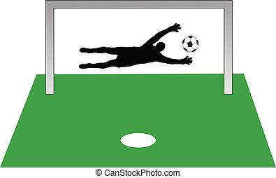 penalidade, tiro