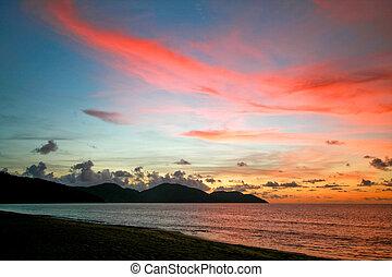 Penang Sunset - Sunset at Penang Malaysia