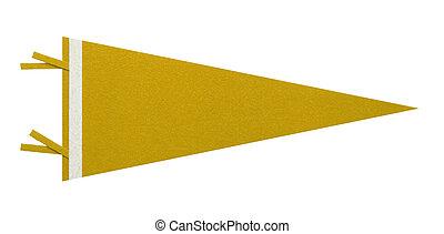 penant, żółty