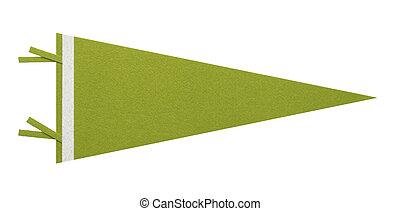 penant, zielony