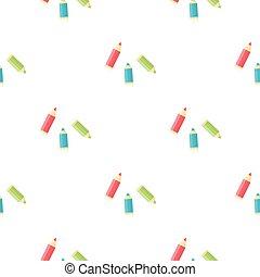 Pencil cartoon icon. Illustration for web and mobile design.