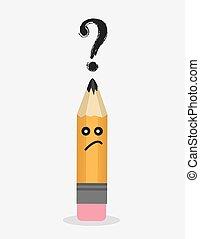 Pencil Character Question