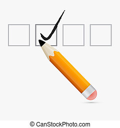 Pencil Check Option