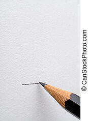 Pencil Drawing a Line