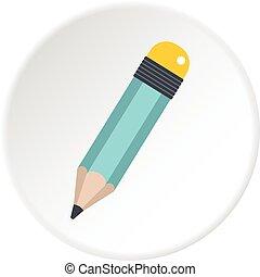 Pencil icon circle