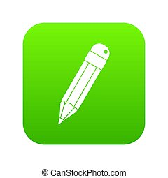 Pencil icon digital green