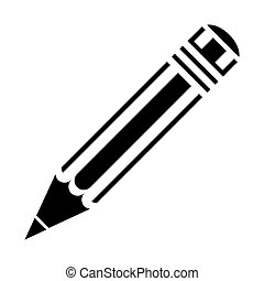 pencil icon , vector illustration