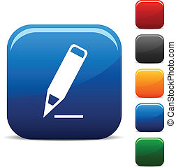 Pencil icons.