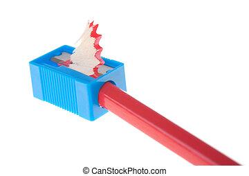 Pencil in sharpner