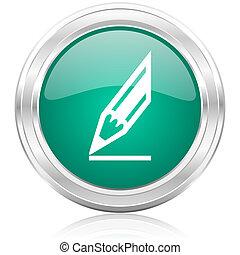 pencil internet icon