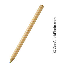 Pencil isolated on white background with clipping path