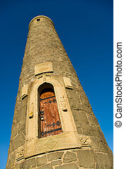 Pencil monument in Largs, Ayshire, Scotland, UK - Pencil...