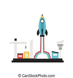 pencil rocket launch