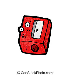 pencil sharpener cartoon
