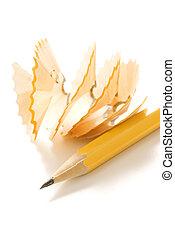 Pencil shavings.
