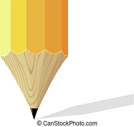 pencil tip background
