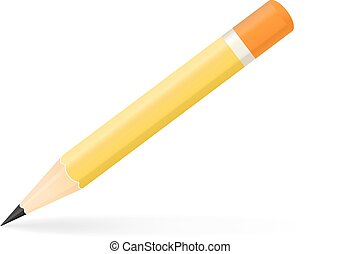 pencil vector illustration isolated