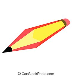 Pencil with the flag of Spain