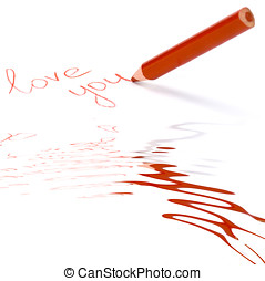 pencil write