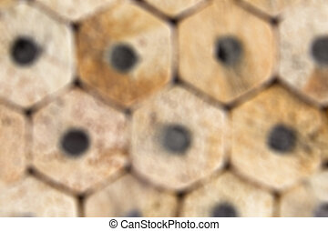 pencils blur background closeup